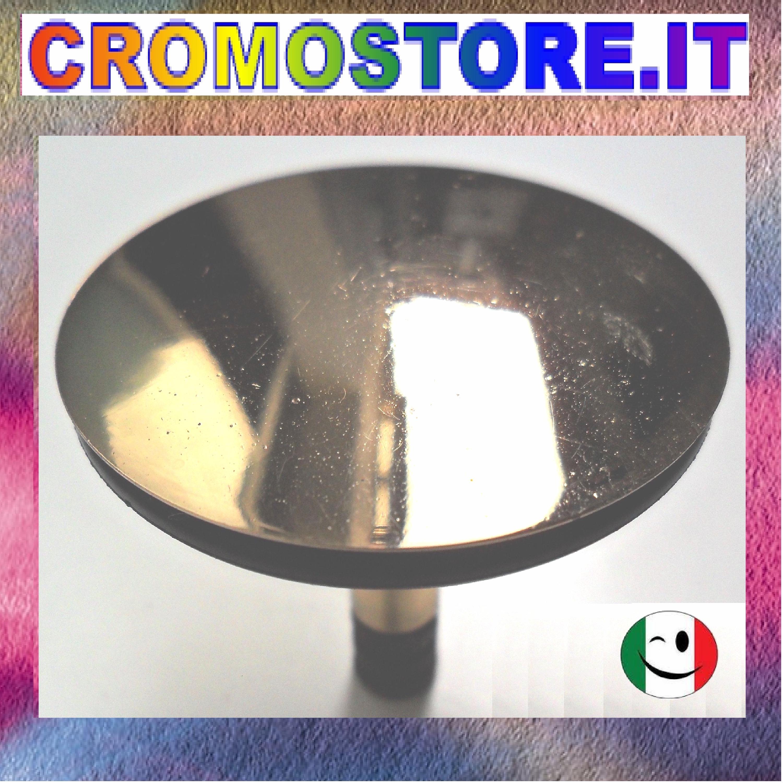 Tappo salterello in ottone per colonna scarico vasca for Accessori bagno dorati